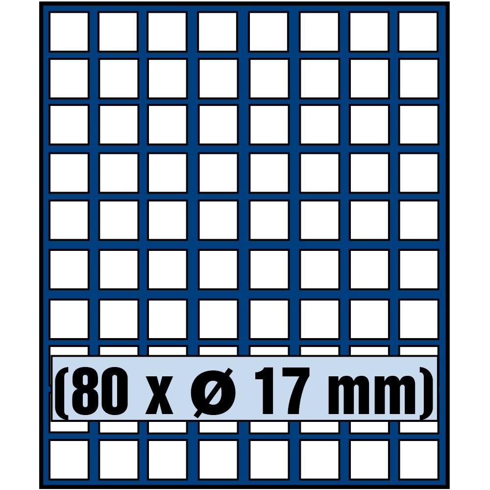 Paleta do kasety NOVA standard - dla monet do 17 mm średnicy
