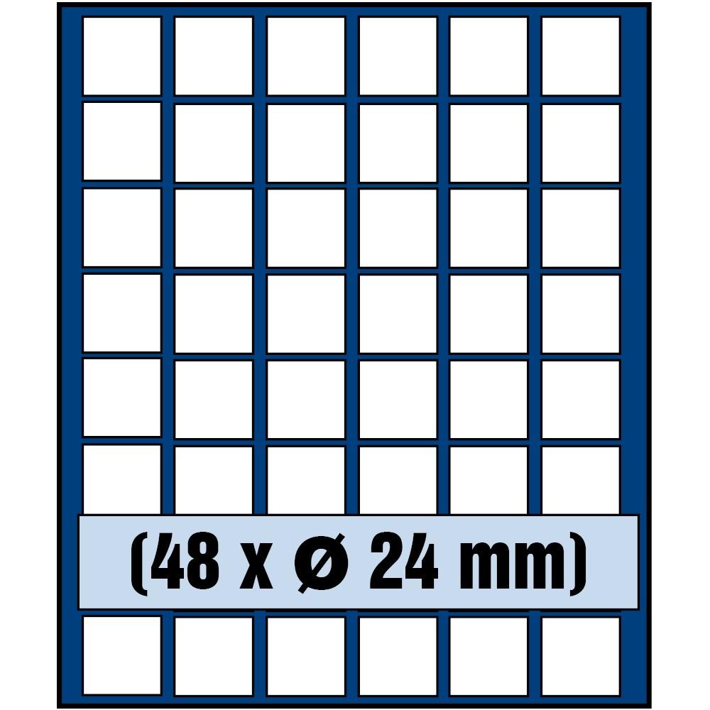 Paleta do kasety NOVA standard - dla monet do 24 mm średnicy