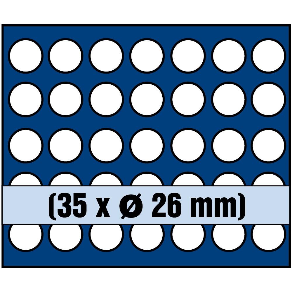 Paleta na monety do 26 mm