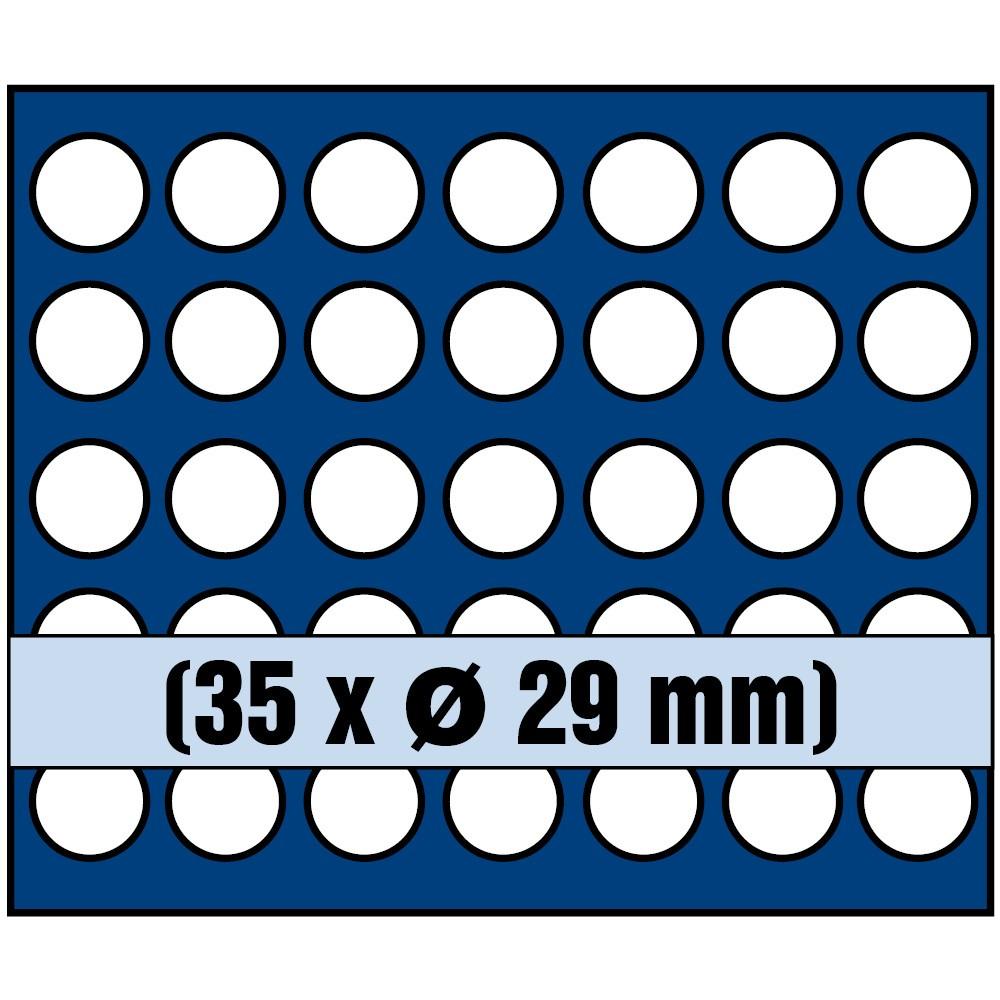 Paleta na monety do 29 mm