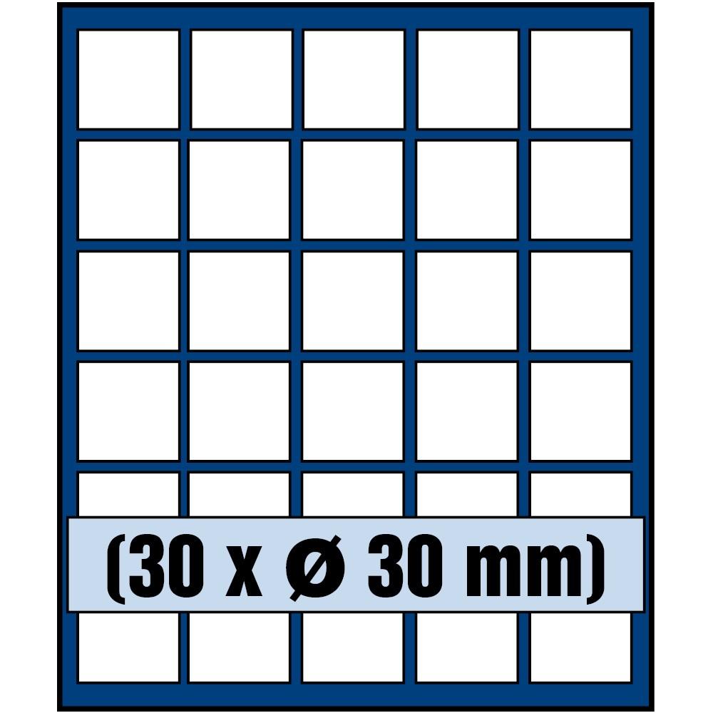 Paleta do kasety NOVA standard - dla monet do 30 mm średnicy