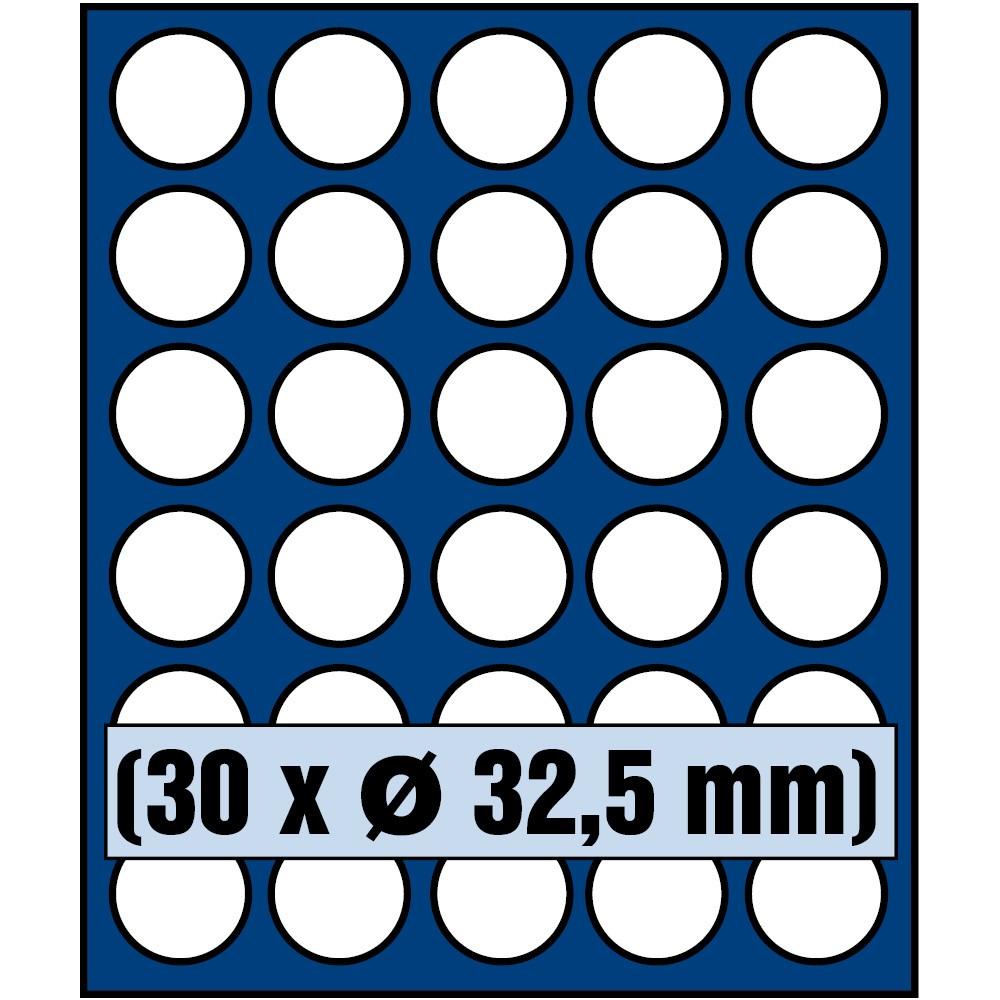 Paleta do kasety NOVA standard - dla monet do 32,5 mm średnicy