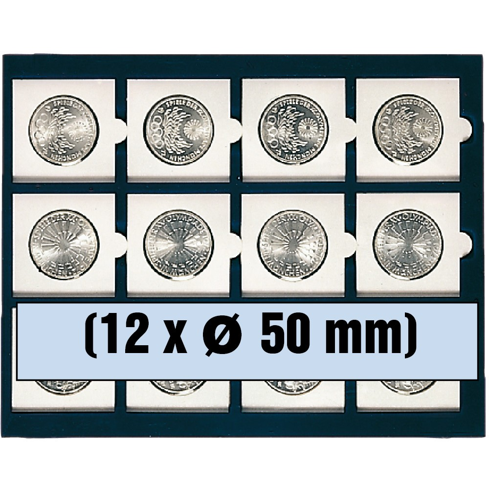 Paleta na 12 monet w holderach
