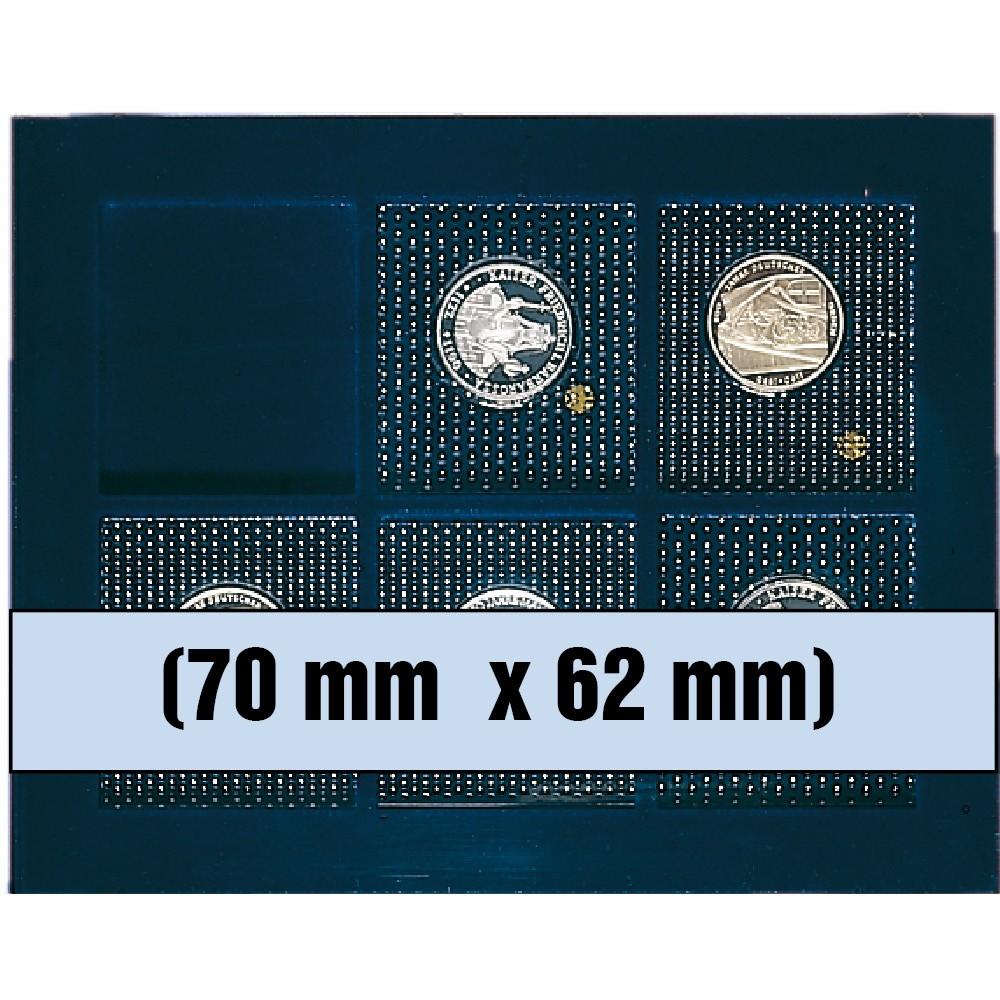 Paleta na monety zestaw monet 70 x 62 mm