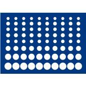 Paleta do walizek Premium, Orzech, Diamant: na zestawy monet euro