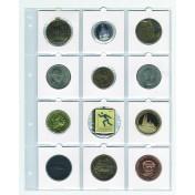 Dodatkowy arkusz do Albumu Compact A4, Albumu Exclusive - album na monety w holderach