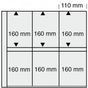 Zestaw 5 dodatkowych arkuszy do segregatorów 1001, 1002, 1005 koloru piaskowego