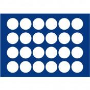Szuflada do szkatuły - na 24 monety do 38 mm średnicy