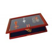 Elegancka gablotka na medale