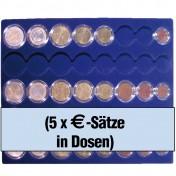 Paleta na kompletne zestawy monet Euro w kapsułach