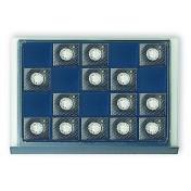 Elegancka czarna paleta (system wieżowy) - 20 podziałów, każdy o wymiarach 54 x 60 mm