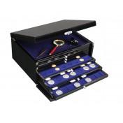 Szuflada do szkatuły - na 15 monet w holderach 50 x 50 mm