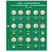Dodatkowa strona do Albumu Premium 2 Euro: lata 2007 - 2008