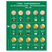 Dodatkowa strona do Albumu Premium 2 Euro: lata 2008 - 2009