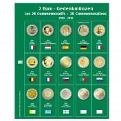 Dodatkowa strona do Albumu Premium 2 Euro: lata 2009 - 2010