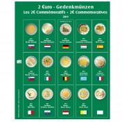 Dodatkowa strona do Albumu Premium 2 Euro: rok 2011