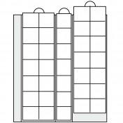 Arkusz uzupełniający do Albumu ArtLine i Premium - na 35 monet do 28 mm średnicy (zestaw 2 arkuszy)