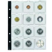 Dodatkowe arkusze do Compact Albumów: Standard, Artline - album na monety w holderach