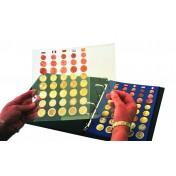 Folia ochronna dla arkuszy Albumu TOPset - na Euro zestawy monet