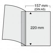 Specjalny arkusz do segregatora Compact A5 ( pakowane po 10 sztuk)