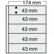 Specjalny 5-częściowuy arkusz do segregatorów Compact